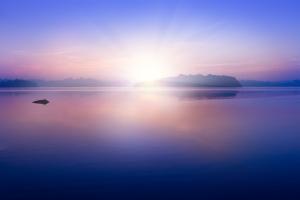 Sunrise on Lagoon